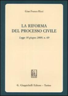 Voluntariadobaleares2014.es La riforma del processo civile. Legge 18 giugno 2009, n. 69 Image