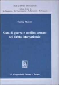 Stato di guerra e conflitto armato nel diritto internazionale