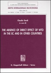 The absence of direct effect of WTO in the EC and in other countries