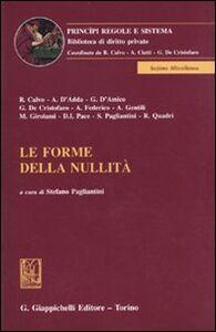 Libro Le forme della nullità