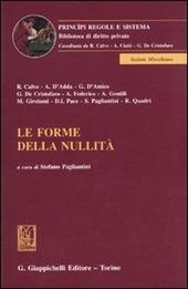 Le forme della nullita