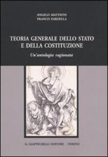Camfeed.it Teoria generale dello Stato e della Costituzione. Un'antologia ragionata Image