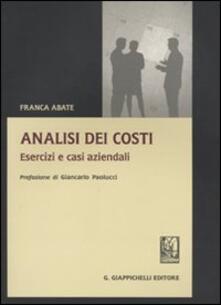 Warholgenova.it Analisi dei costi. Esercizi e casi aziendali Image