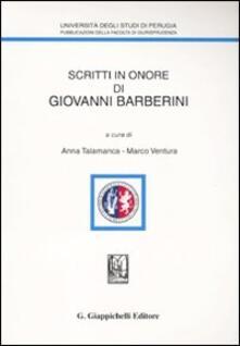Winniearcher.com Scritti in onore di Giovanni Barberini Image