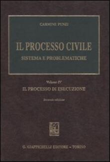 Voluntariadobaleares2014.es Il processo civile. Sistema e problematiche. Vol. 4: Il processo di esecuzione. Image