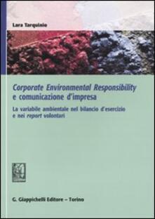 Adiaphora.it Corporate environmental responsability e comunicazione d'impresa. La variabile ambientale nel bilancio d'esercizio e nei report volontari Image