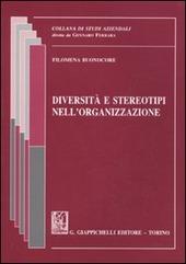 Diversità e stereotipi nell'organizzazione