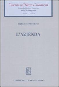 Libro L' azienda Federico Martorano