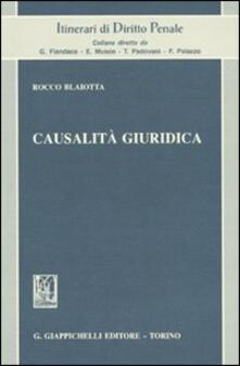 Camfeed.it Causalità giuridica Image