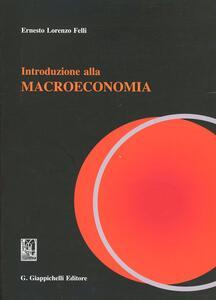 Introduzione alla teoria macroeconomica