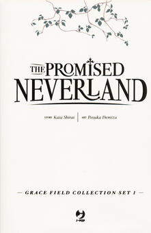 Associazionelabirinto.it The promised Neverland. Grace Field Collection Set Image
