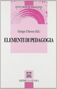 Libro Elementi di pedagogia