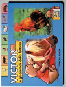 Libro Victor e gli animali della fattoria. Ediz. illustrata Jay Ivens