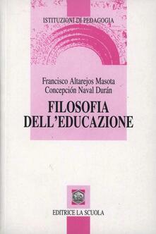 Lpgcsostenible.es Filosofia dell'educazione Image