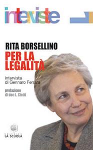 Libro Per la legalità Rita Borsellino
