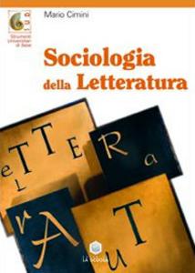 Libro Sociologia della letteratura Mario Cimini