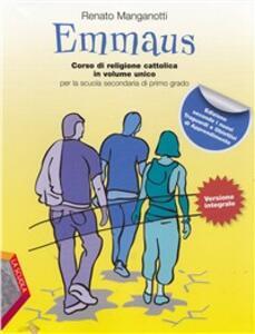 Emmaus. Vol. unico. Per la Scuola media. Con espansione online