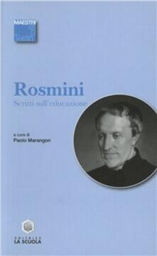 Ristorantezintonio.it Scritti sull'educazione Image