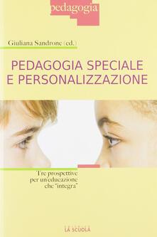 Antondemarirreguera.es Pedagogia speciale e personalizzazione Tre prospettive per un'educazione che «integra»  Image