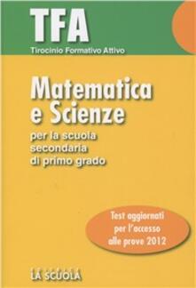 Tirocinio formativo attivo. Matematica e scienze.pdf