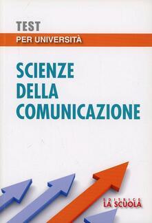 Associazionelabirinto.it Test per università. Scienze della comunicazione Image
