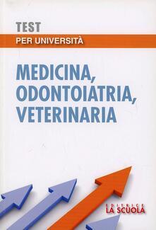 Premioquesti.it Test per l'università. Medicina, odontoiatria, veterinaria Image