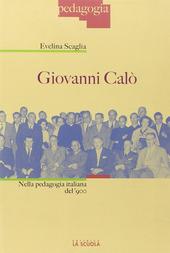 Giovanni Calò nella pedagogia italiana del Novecento