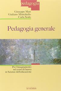 Pedagogia generale per l'insegnamento nel corso di laurea in scienza dell'educazione