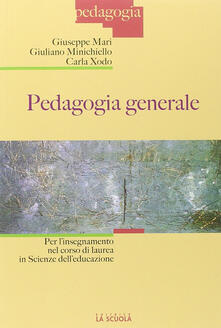 Camfeed.it Pedagogia generale per l'insegnamento nel corso di laurea in scienza dell'educazione Image