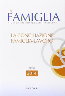 Antondemarirreguera.es La conciliazione famiglia-lavoro. La famiglia. Annuario 2014 Image