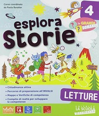ESPLORA STORIE 4 ED. MISTA