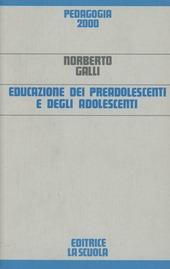 Educazione dei preadolescenti e degli adolescenti