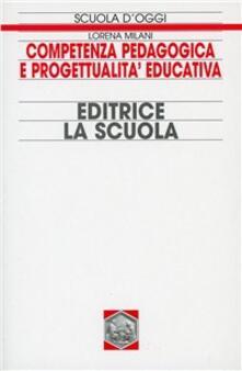 Capturtokyoedition.it Competenza pedagogica e progettualità educativa Image