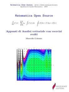 Appunti di Analisi vettoriale con esercizi svolti - Marcello Colozzo - ebook