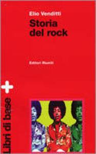 Libro Storia del rock Elio Venditti