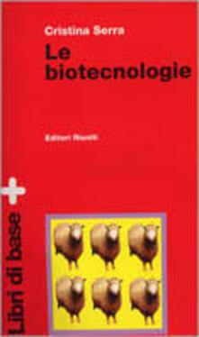 Osteriacasadimare.it Le biotecnologie. Con floppy disk Image