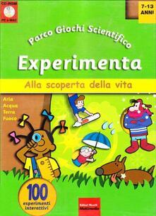 Recuperandoiltempo.it Experimenta. Con CD-ROM. Vol. 1 Image