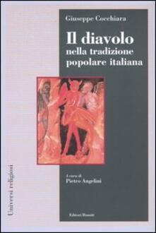 Il diavolo nella tradizione popolare italiana - Giuseppe Cocchiara - copertina