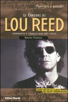 Listadelpopolo.it Le canzoni di Lou Reed Image