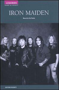 Libro Iron Maiden Maurizio De Paola