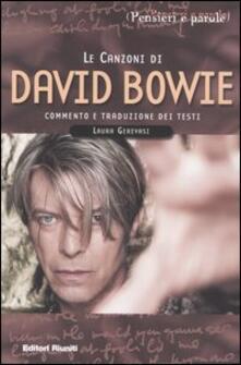 Cocktaillab.it Le canzoni di David Bowie. Commento e traduzione dei testi Image