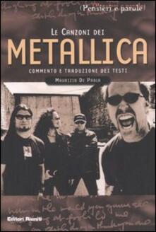 Le canzoni dei Metallica.pdf