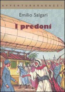 Libro I predoni Emilio Salgari