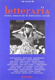 Letteraria. Rivista semestrale di letteratura sociale. Vol. 2.pdf