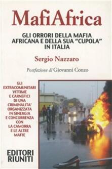 MafiAfrica -  Sergio Nazzaro - copertina