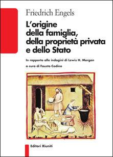 L origine della famiglia, della proprietà privata e dello Stato.pdf