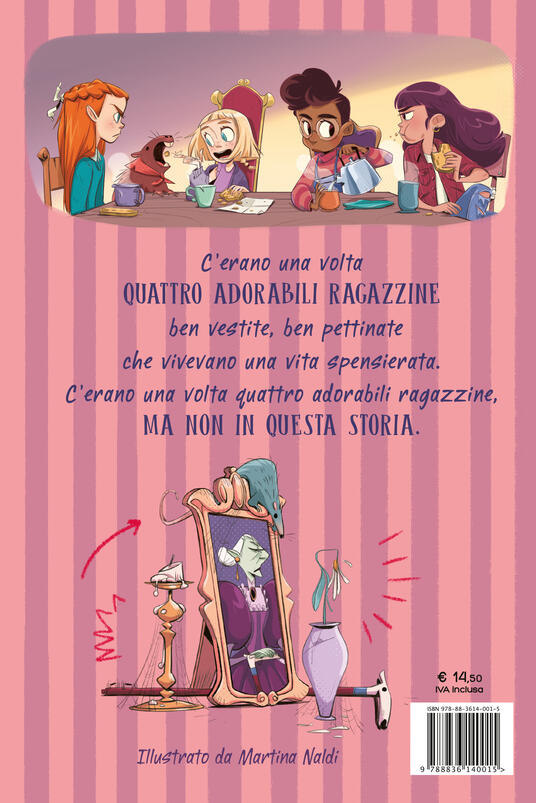 La vendetta delle orfanelle maleducate - Carolina Capria,Mariella Martucci - 2