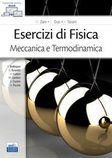 Esercizi di fisica. Meccanica e termodinamica - copertina