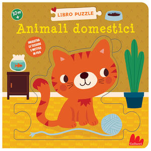 Libro Animali domestici. Ediz. a colori Rikky Schrever