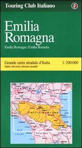 Libro Emilia Romagna 1:200.000